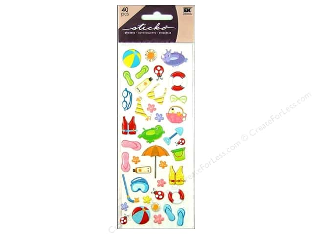 EK Sticko Stickers Puffy Citronella
