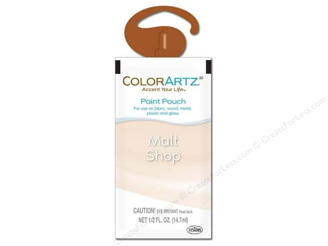 Testors ColorArtz Paint Pouch 1.5oz Malt Shop