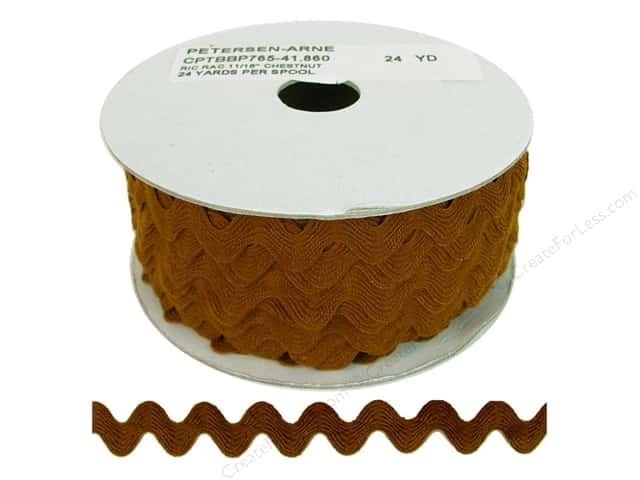 Ric Rac by Cheep Trims  11/16 in. Chestnut (24 yards)