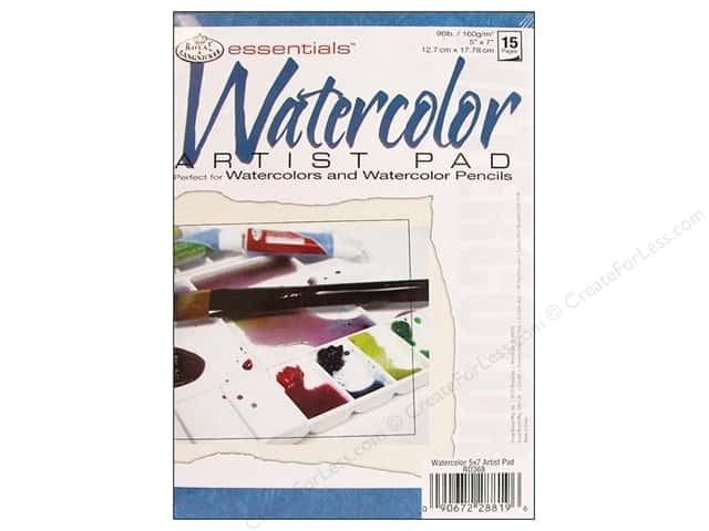 Royal Watercolor Artist Pad 5 x 7 in.