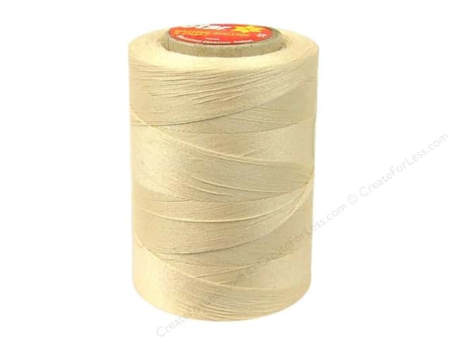 Coats Cotton Machine Quilting Thread 1200 yd. #599 Eggshell Cream