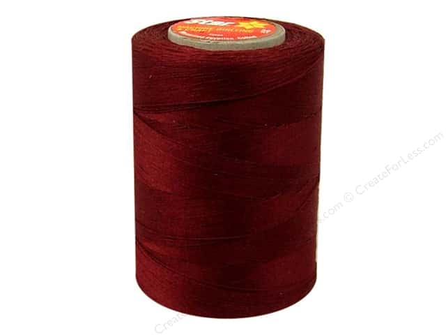 Coats Cotton Machine Quilting Thread 1200 yd. #601 Rubytone