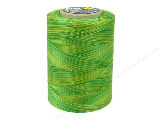 Coats & Clark Star Variegated Mercerized Cotton Quilting Thread 1200 yd. #831 Spring Meadow