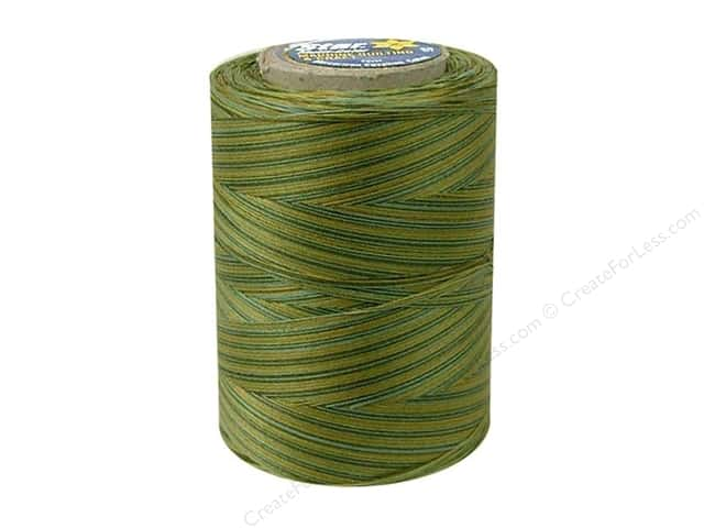 Coats & Clark Star Variegated Mercerized Cotton Quilting Thread 1200 yd. #833 Fall Vines
