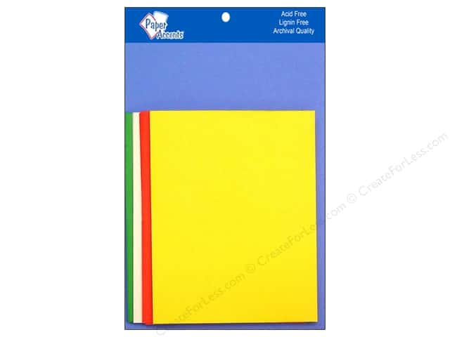 4 1/4 x 5 1/2 in. Blank Card & Envelopes by Paper Accents 10 pc. Primary