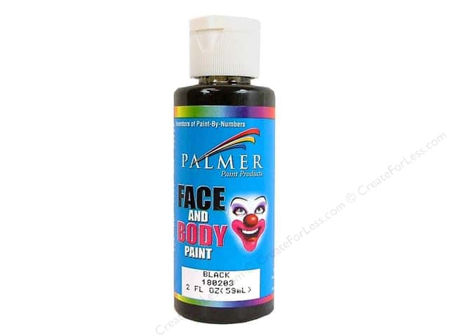 Palmer Face Paint Black 2oz
