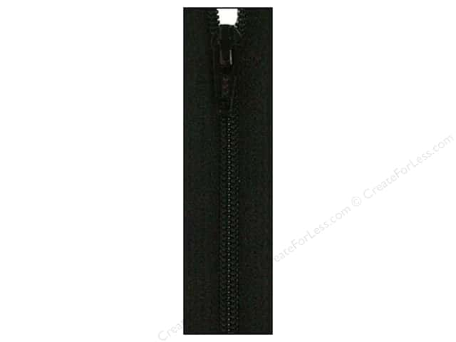 Atkinson Designs Zipper by YKK 14 in. Basic Black