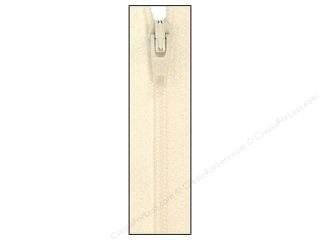 Atkinson Designs Zipper by YKK 14 in. Marshmallow (6 pieces)