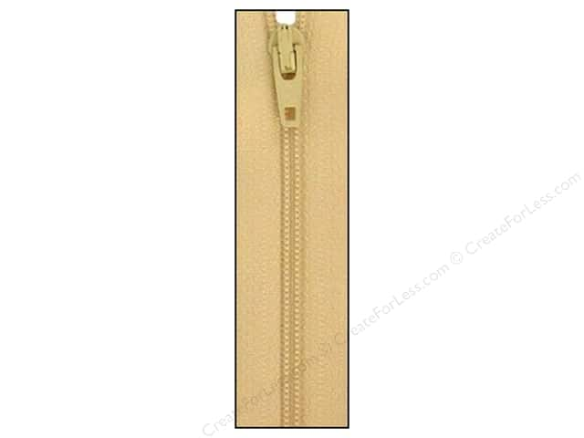Atkinson Designs Zipper by YKK 14 in. Straw