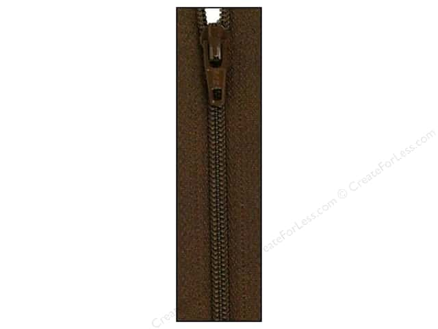 Atkinson Designs Zipper by YKK 14 in. Coffee Bean