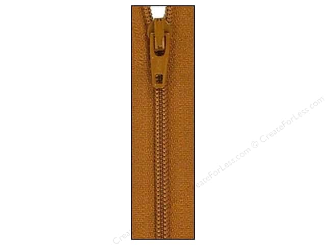 Atkinson Designs Zipper by YKK 14 in. Gingerbread (6 pieces)