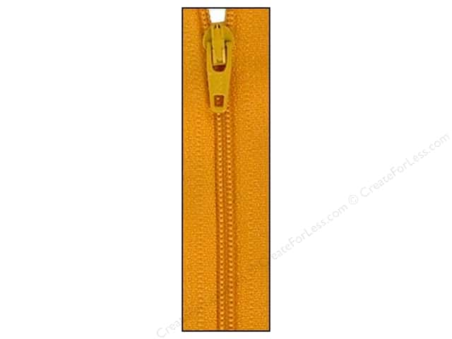 Atkinson Designs Zipper by YKK 14 in. Yukon Gold