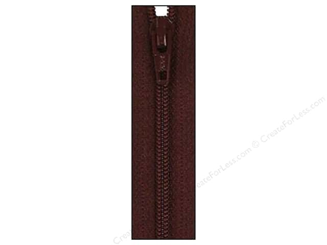 Atkinson Designs Zipper by YKK 14 in. Raisin (6 pieces)