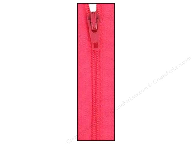 Atkinson Designs Zipper by YKK 14 in. Rosy Cheeks