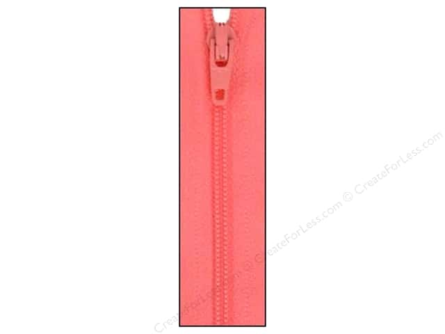 Atkinson Designs Zipper by YKK 14 in. Pink Frosting (6 pieces)