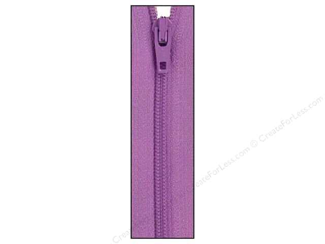 Atkinson Designs Zipper by YKK 14 in. Lilac