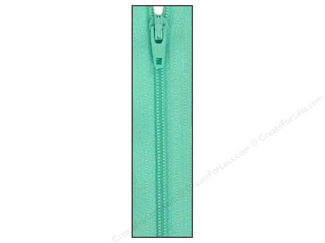 Atkinson Designs Zipper 14 in. Misty Teal by YKK