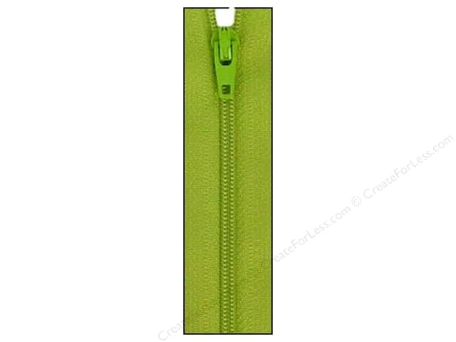 Atkinson Designs Zipper by YKK 14 in. Kiwi