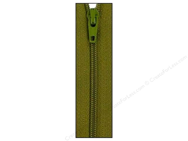 Atkinson Designs Zipper by YKK 14 in. Mossy (6 pieces)