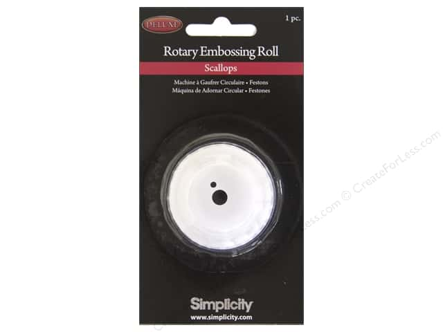 Simplicity Rotary Cutting Machine Emboss Roll Scallop