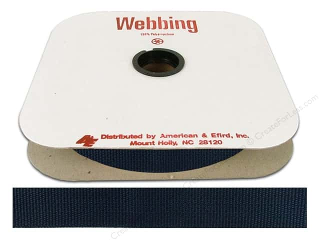 Polypropylene Webbing by A&E 1 in. Navy (25 yards)