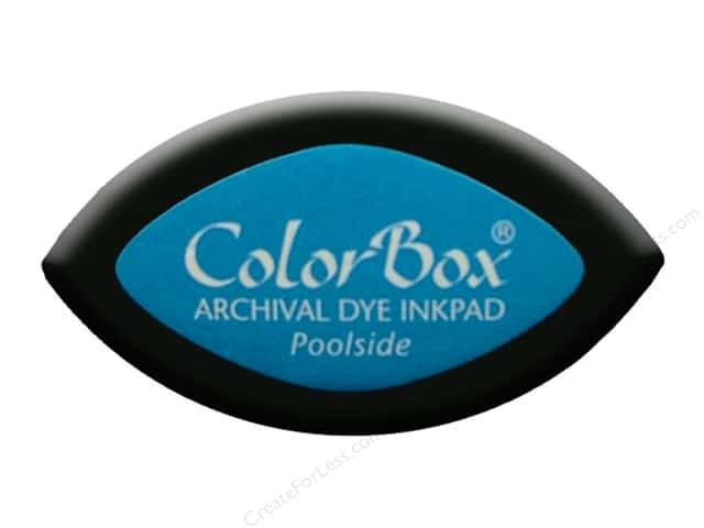 ColorBox Archival Dye Ink Pad Cat's Eye Poolside