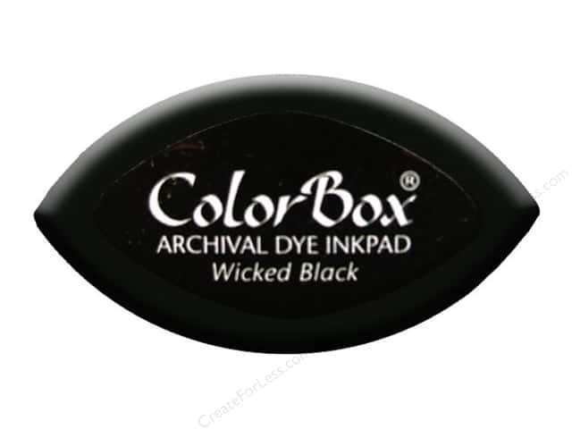 ColorBox Archival Dye Ink Pad Cat's Eye Wicked Black