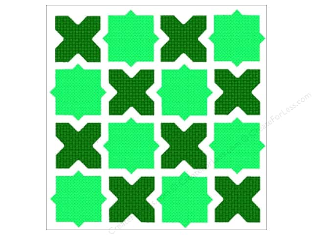 StenSource Painting Stencil 5 in. Lattice Window