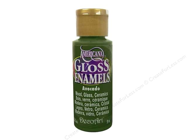 DecoArt Americana Gloss Enamel Paint 2 oz. #52 Avocado