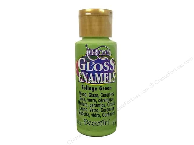 DecoArt Americana Gloss Enamel Paint 2 oz. #269 Foliage Green