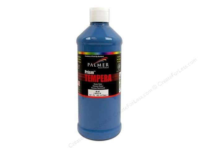 Palmer Tempera Poster Paint 16 oz. Blue