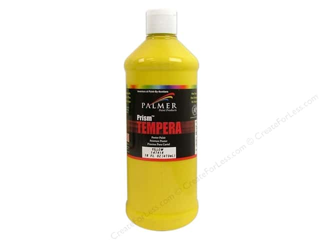 Palmer Tempera Poster Paint 16 oz. Yellow