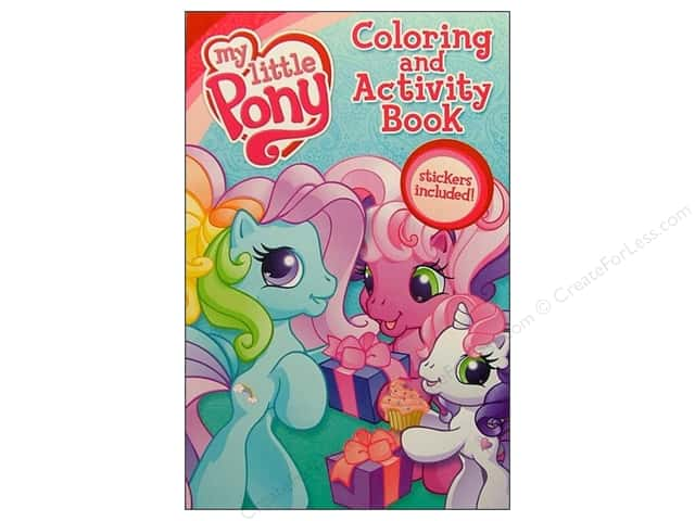 Bendon Coloring & Activity Book with Stickers My Little Pony (3 pieces)