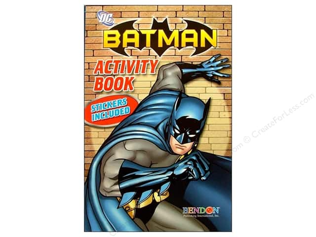 Bendon Activity Book with Stickers Batman (3 pieces)