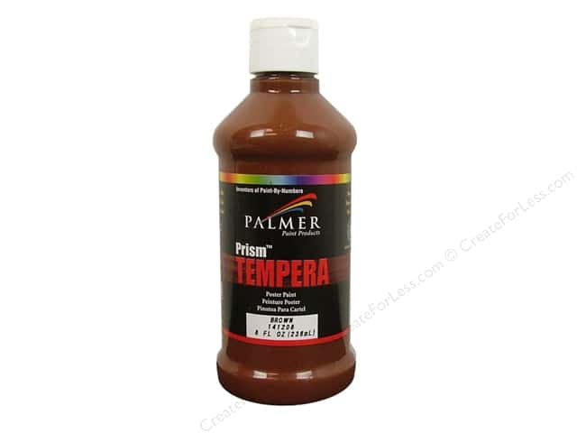 Palmer Tempera Poster Paint 8 oz. Brown