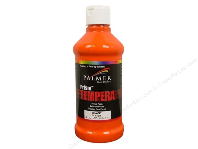 Palmer Tempera Poster Paint 8 oz. Orange
