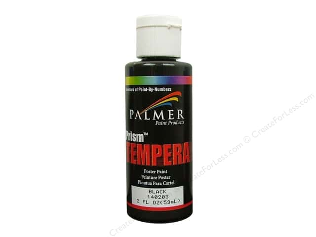 Palmer Tempera Poster Paint 2 oz. Black