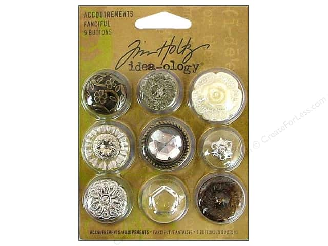 Tim Holtz Idea-ology Accoutrements Fanciful
