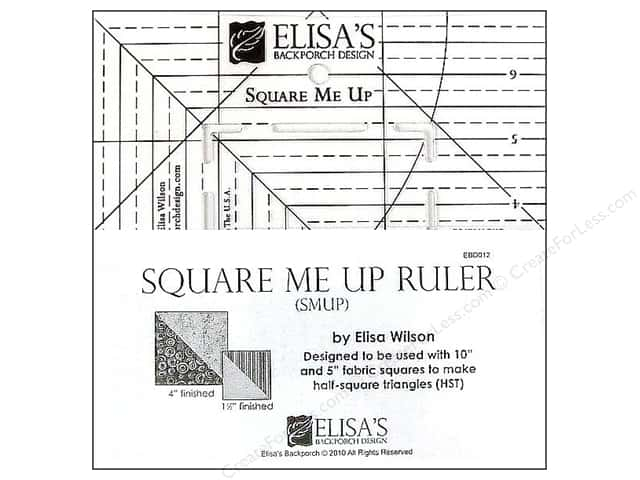 Elisa's Backporch Ruler Square Me Up