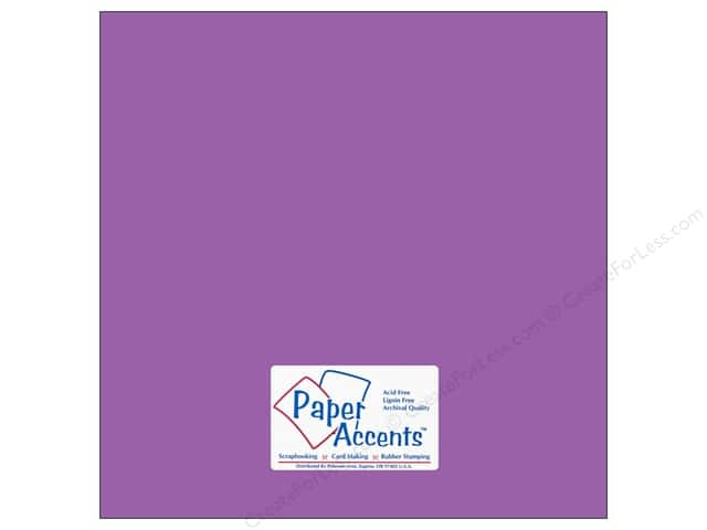 Paper Accents Cardstock 12 x 12 in. #10120 Stash Builder Thistle (25 sheets)