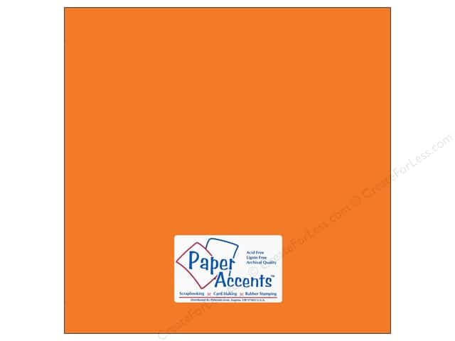 Cardstock 12 x 12 in. #10099 Stash Builder Campfire by Paper Accents (25 sheets)