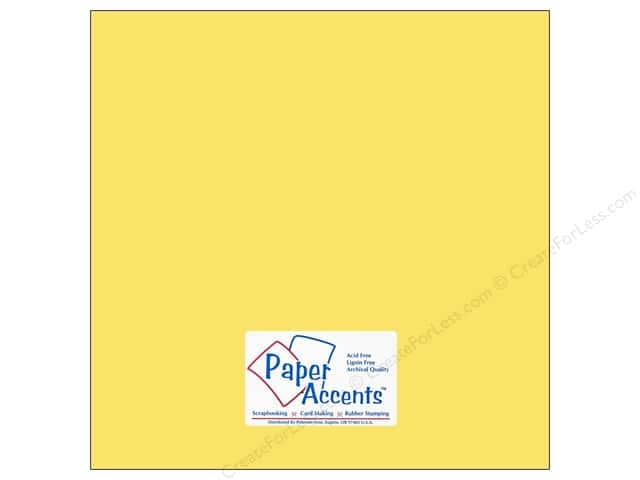 Cardstock 12 x 12 in. #10102 Stash Builder Daisy Chain by Paper Accents (25 sheets)
