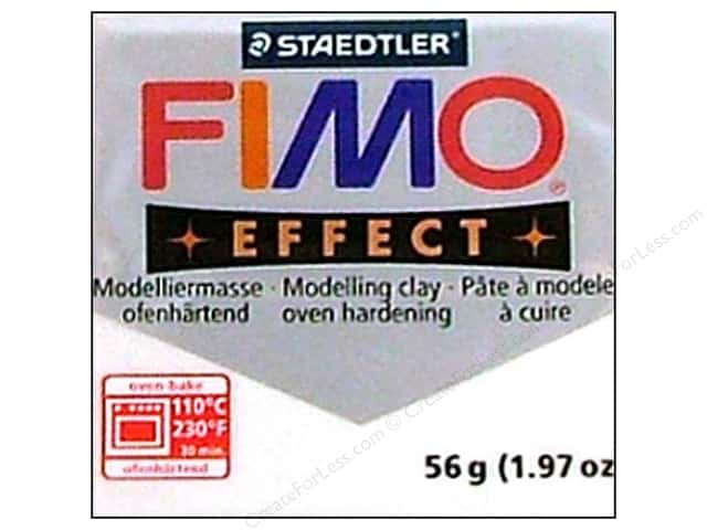 Fimo Soft Clay 2 oz. Metallic White
