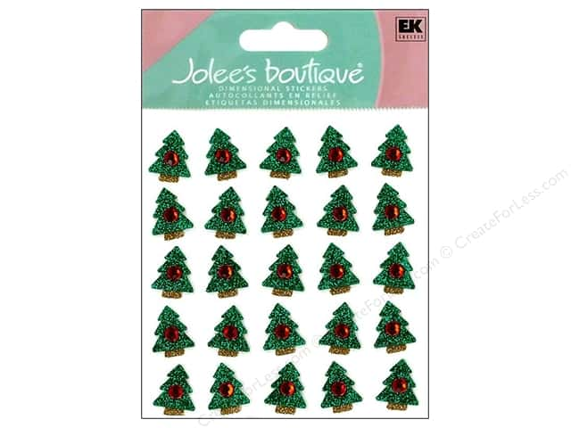 Jolee's Boutique Stickers Repeats Christmas Tree