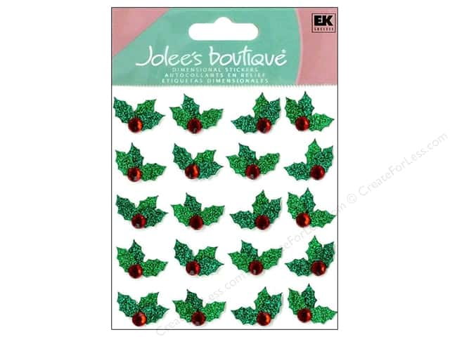 Jolee's Boutique Stickers Repeats Christmas Holly