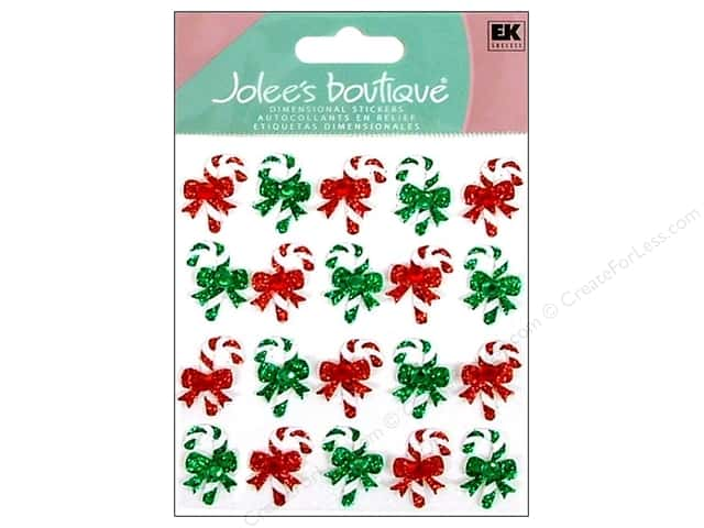 Jolee's Boutique Stickers Repeats Candy Cane