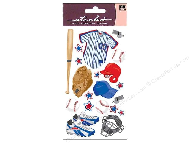 EK Sticko Stickers Baseball Gear