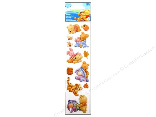 EK Disney Stickers Dimensional Baby Pooh