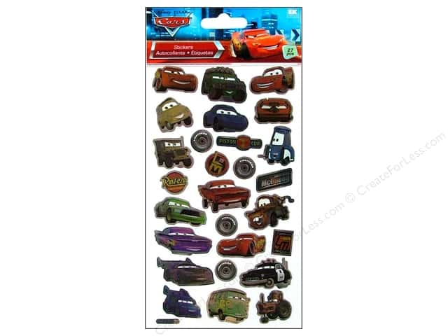 EK Disney Sticker Cars