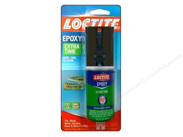 Loctite Extra Time Epoxy 60 Min .85 oz
